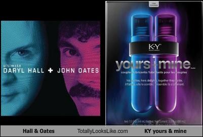 album cover daryl hall hall and oates john oates ky jelly lube musicians sex