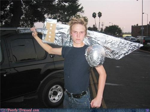 cosplay,final fantasy,level 80,RPG,tin foil