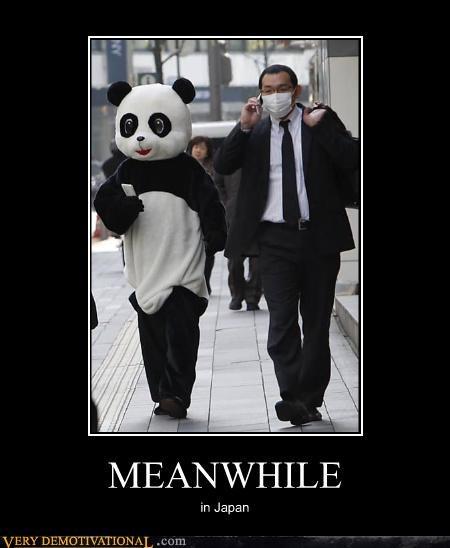 costume Japan mask panda wtf - 4537014272