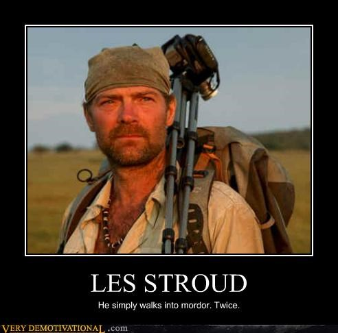 awesome,les stroud,mordor,survivor man,TV
