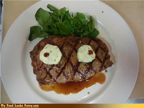 cheese derp face spinach steak