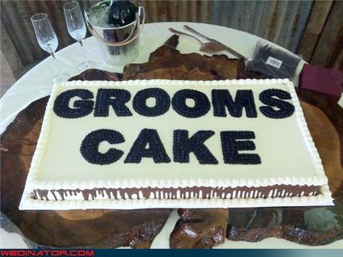 FAIL funny wedding photos grammar grooms-cake polyandry - 4537291776