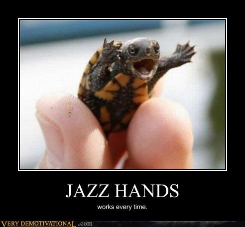 awesome jazz hands turtle - 4537352704