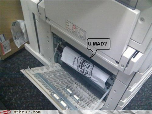 error mad paper paper jam printer troll
