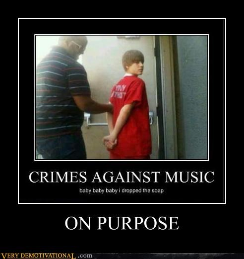 crimes justin bieber Music soap drop - 4537871616