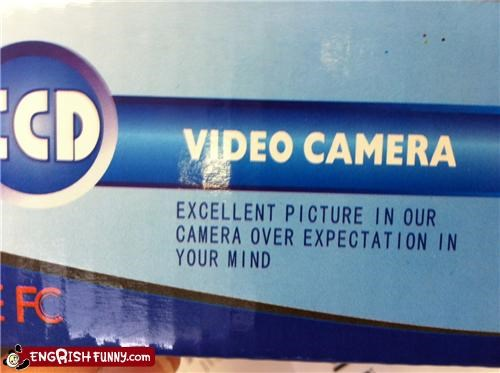 box camera engrish