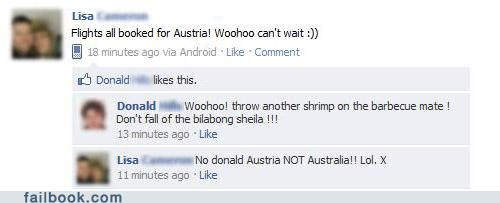 australia austria Dumb and Dumber facepalm stupid - 4538725376