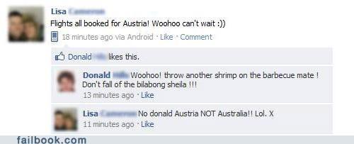 australia austria Dumb and Dumber facepalm stupid - 4538725376