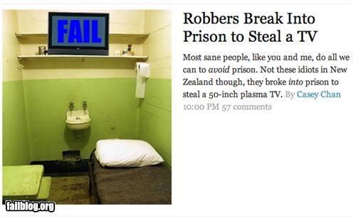bad idea facepalm failboat g rated jail Probably bad News robbing - 4538840576