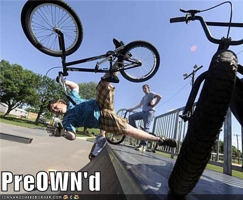 bike,derp,fall,gloves,owned,preowned,pwn