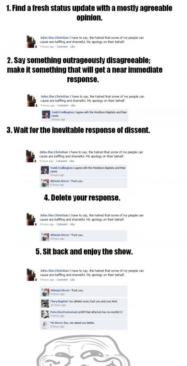 A Failbook Guide to Trolling,How To,lol,troll,win