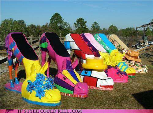 art crazy shoes horse shoes horses wtf - 4539326976