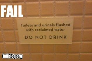 bathrooms drinking failboat g rated gross oh oregon really sign urinals water - 4539484416