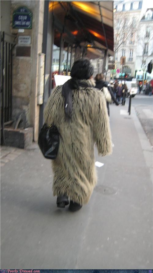 chewbacca Chewie coat fur murder star wars - 4539794688