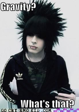 adidas,emo,Gravity,hair,mainstream,scene