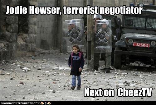 Jodie Howser, terrorist negotiator Next on CheezTV