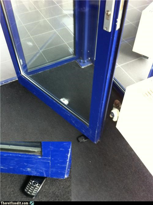 cell phone door stop dual use holding it up - 4540849920