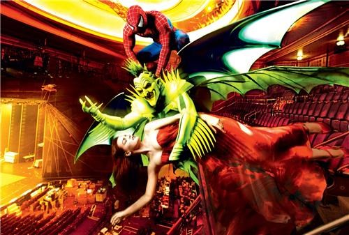 Julie Taymor,Nerd News,Spider-Man,spiderman broadway,Spider-man turn off the dark,superheroes