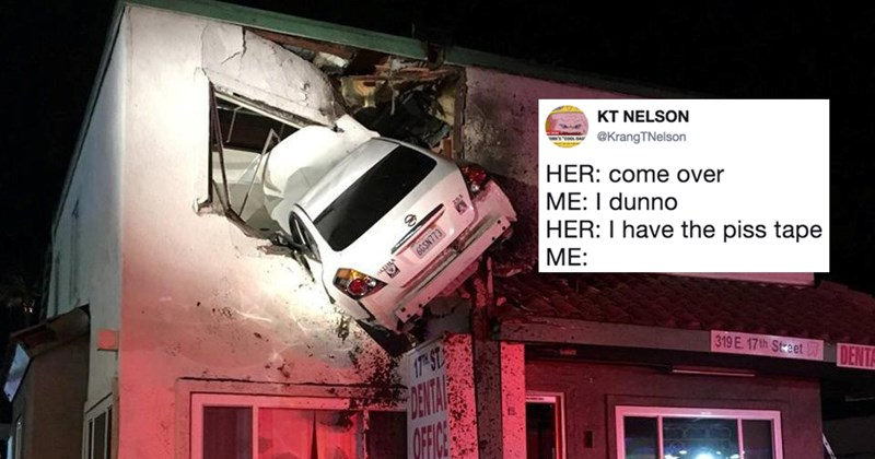 Funny memes about car crash second floor santa ana california.
