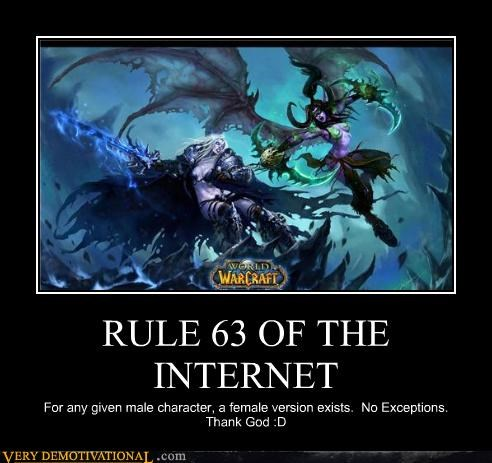 arthas rule 63,illidan,internet,WoW