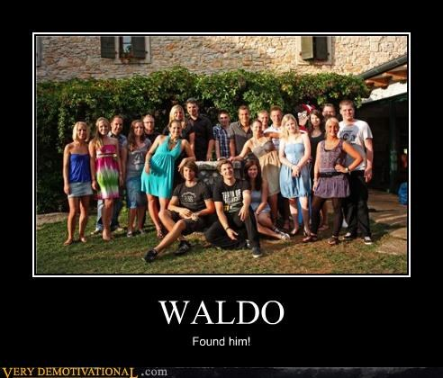 WALDO Found him!