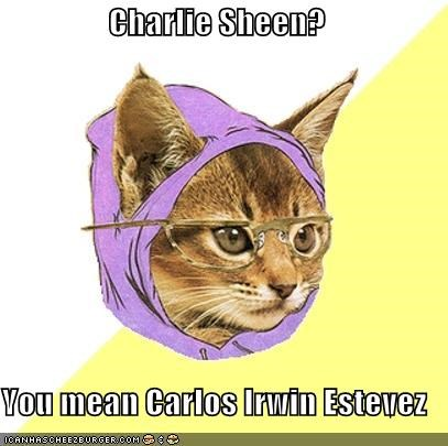Carlos Irwin Estevez Hipster Kitty inb4