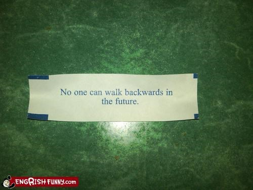 back to the future,fortune cookie