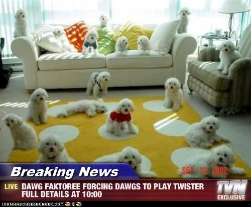 Breaking News - DAWG FAKTOREE FORCING DAWGS TO PLAY TWISTER FULL DETAILS AT 10:00