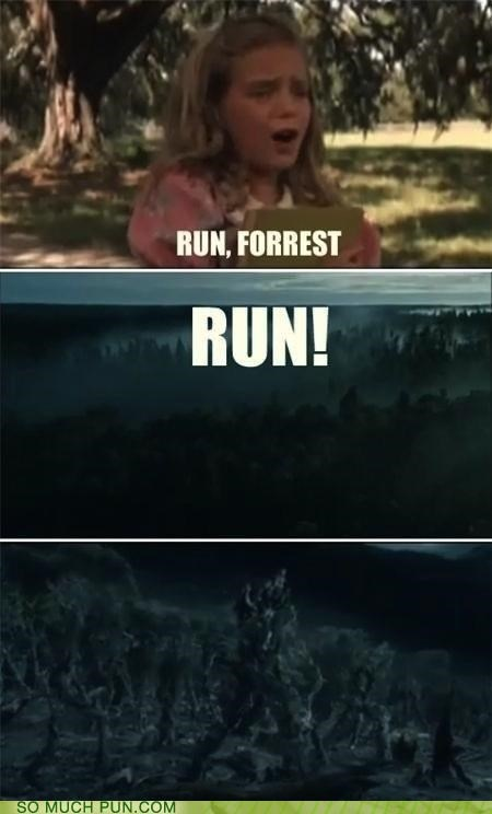 comixed,famous,film,films,Forest,Forrest Gump,homophone,lola,Movie,movies,quote,run