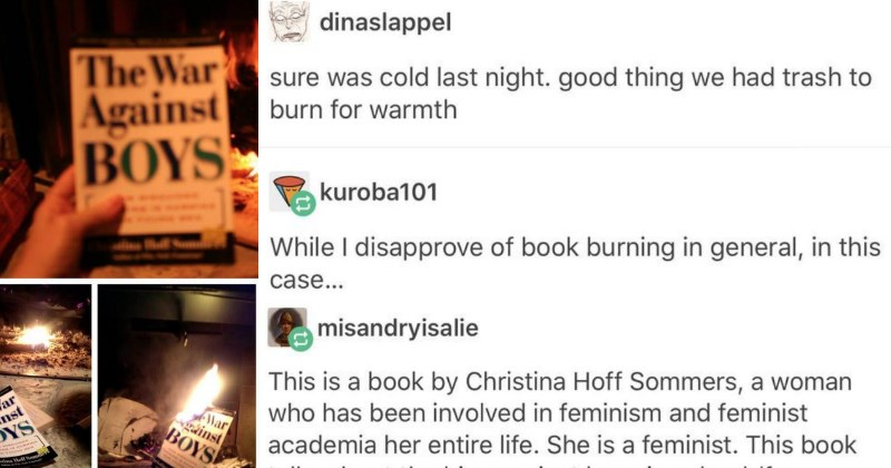 SJW's Burn Book Without Knowing the Context of Its Writing and Get Brutally Dismantled
