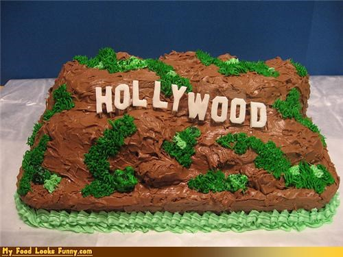 cake epicute hills hollywood landscape sign - 4542258688