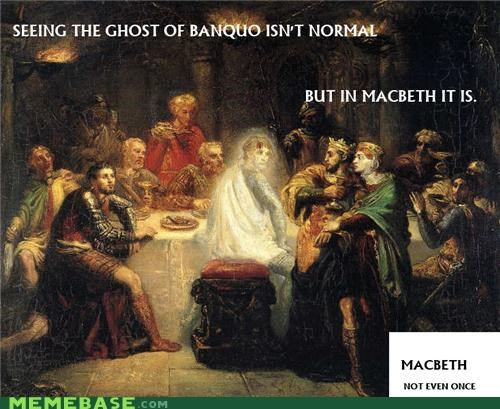 banquo ghost macbeth shakespeare