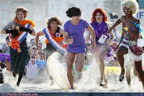 beach,cross dresser,drag,dress,race,wigs