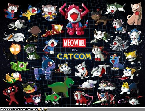 art awesome best of the week capcom comic books marvel nerdy puns superheroes - 4542545920