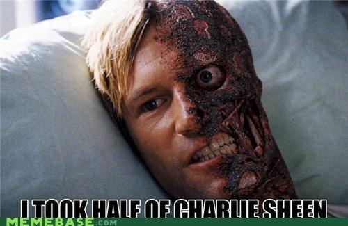 batman Charlie Sheen harvey dent superheroes two face - 4542692096