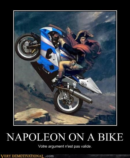 napoleon bike Invalid Argument