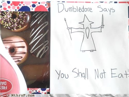 chronicles of narnia donuts dumbledore gandalf wizard