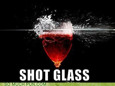 bullet glass literalism recoil shot shot glass