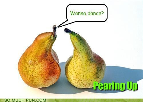 asking,homophone,literalism,pair,pairing,pear,pears,question