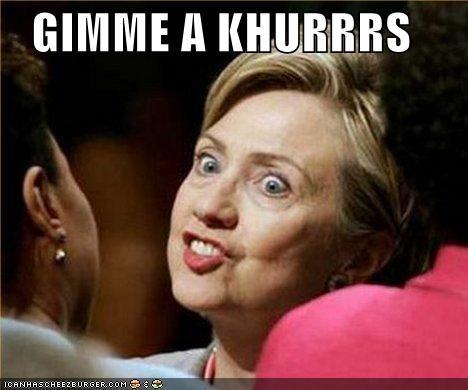 Celebriderp Hillary Clinton hillary KISS president pucker senator - 4543855360