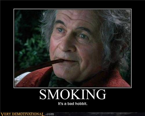 awesome bilbo pipe smoking - 4544558336