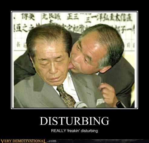 DISTURBING REALLY freakin' disturbing