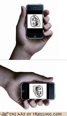 iphone IRL itroll never right side up sideways theres-an-app-for-trolling umad - 4545083904