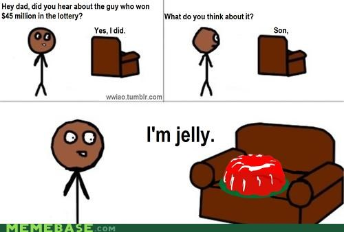 a winrar is you,dad,Jello,jelly