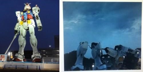 2011 Sendai earthquake,gundam