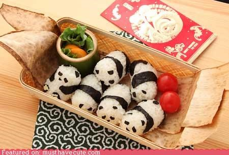 epicute lunch panda rice seaweed snack - 4545378048