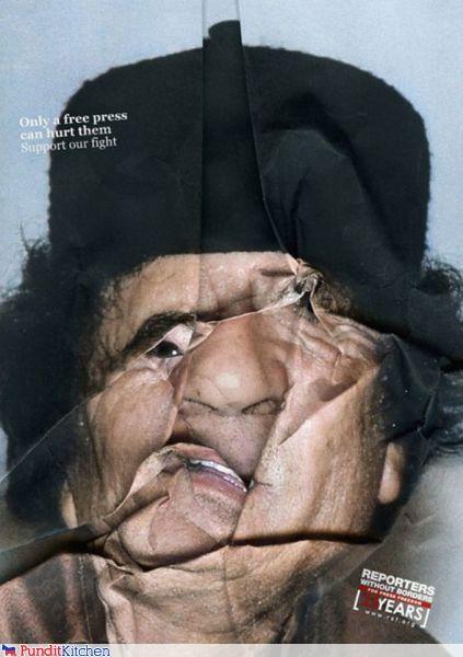 dicators faces iran Kim Jong-Il libya Mahmoud Ahmadinejad muammar al-gaddafi North Korea - 4545411840