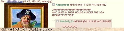 IRL Japan news SpongeBob SquarePants too soon trolls like this humor Tsunami - 4545465344