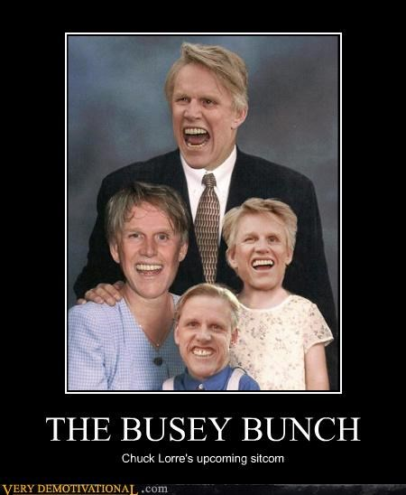 THE BUSEY BUNCH Chuck Lorre's upcoming sitcom