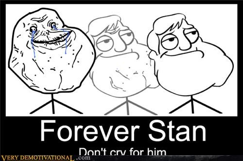 american dad,forever alone,Memes,stan smith,TV